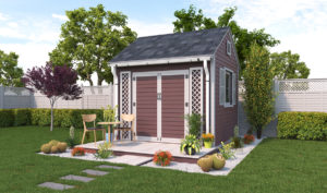 10x10 garden shed preview