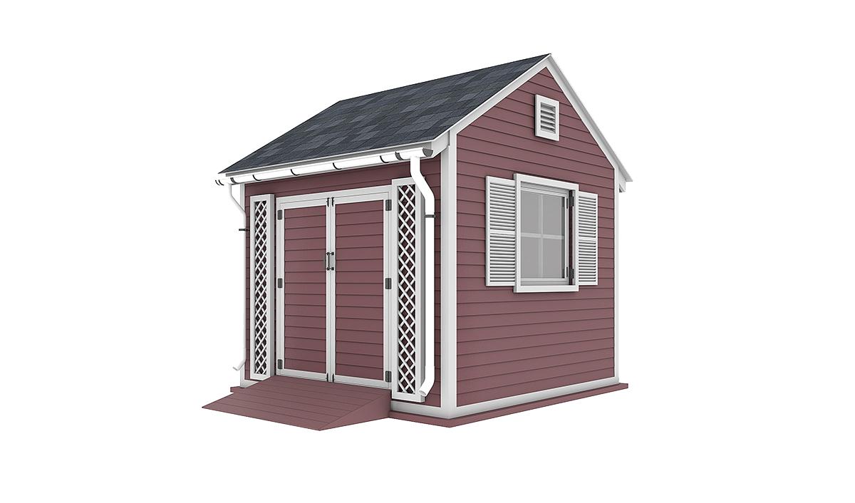10x10 garden shed