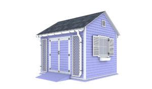 10x12 garden shed