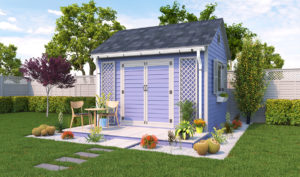 10x12 garden shed preview