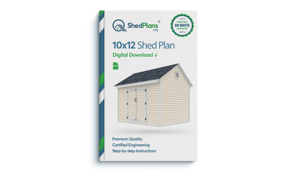 10x12 storage shed plan