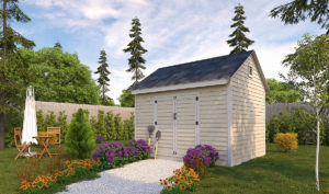 10x12 storage shed preview