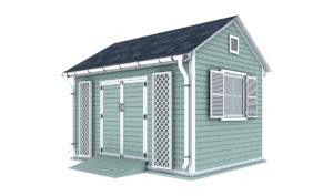10x14 garden shed