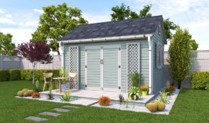 10x14 garden shed preview