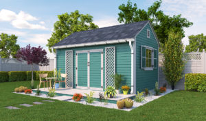 10x16 garden shed preview