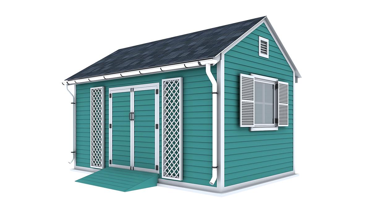 10x16 garden shed