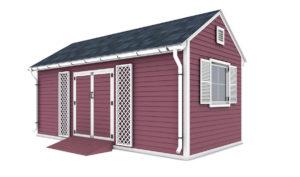 10x20 garden shed