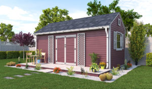 10x20 garden shed preview
