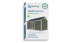 10x20 storage shed plan