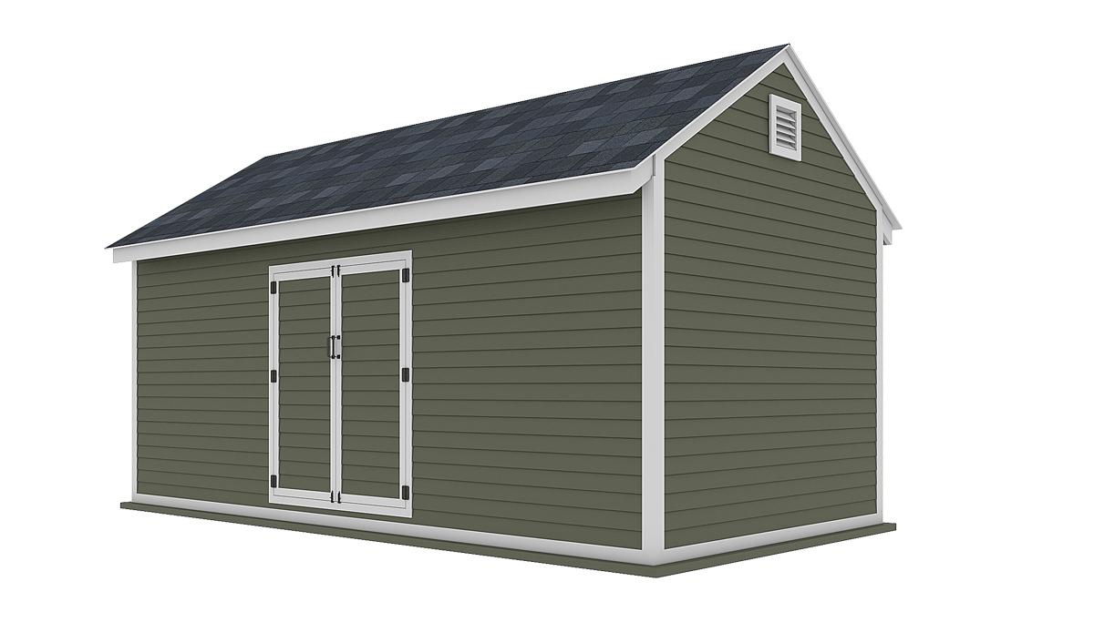 10x20 storage shed