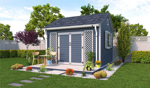 12x12 gable garden shed plans
