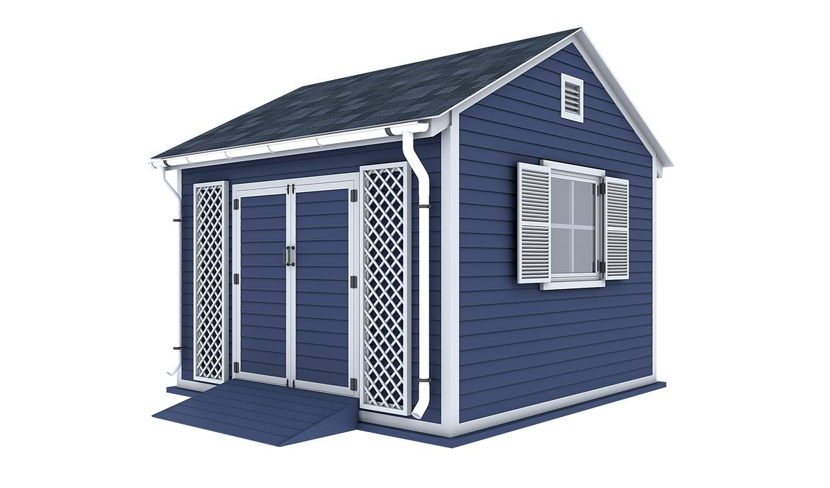 12x12 garden shed