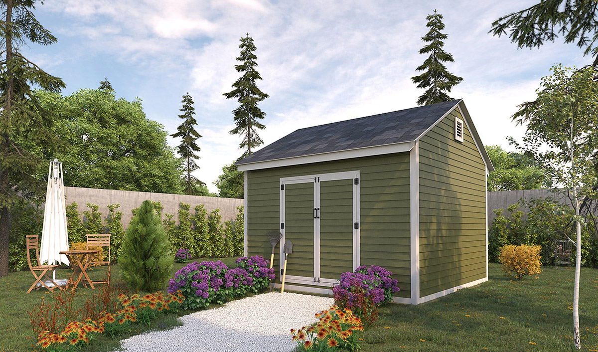 12x12 storage shed preview