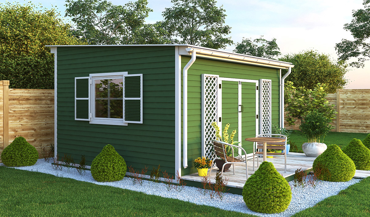 12x14 garden shed preview