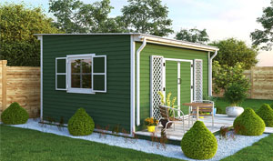 12x14 lean-to garden shed plans