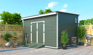 12x14 lean-to storage shed plans