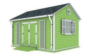 12x16 garden shed