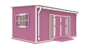 12x18 garden shed