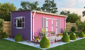 12x18 lean-to garden shed plans