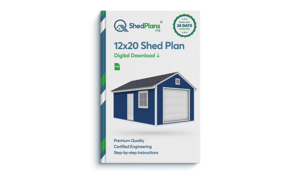 12x20 garage shed plan