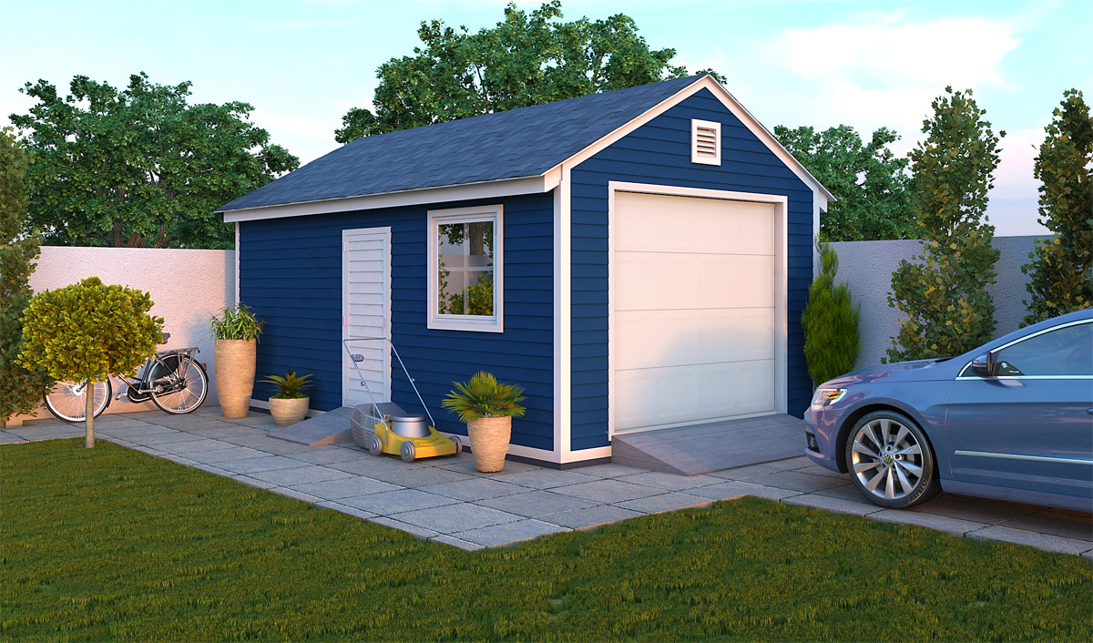 12x20 garage shed preview