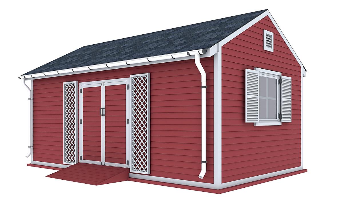 12x20 garden shed