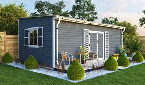 12x24 lean-to garden shed plans