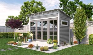 12x6 lean-to garden shed plans