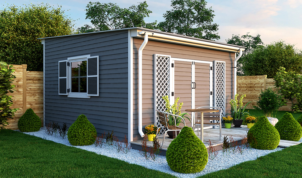 14x14 garden shed preview