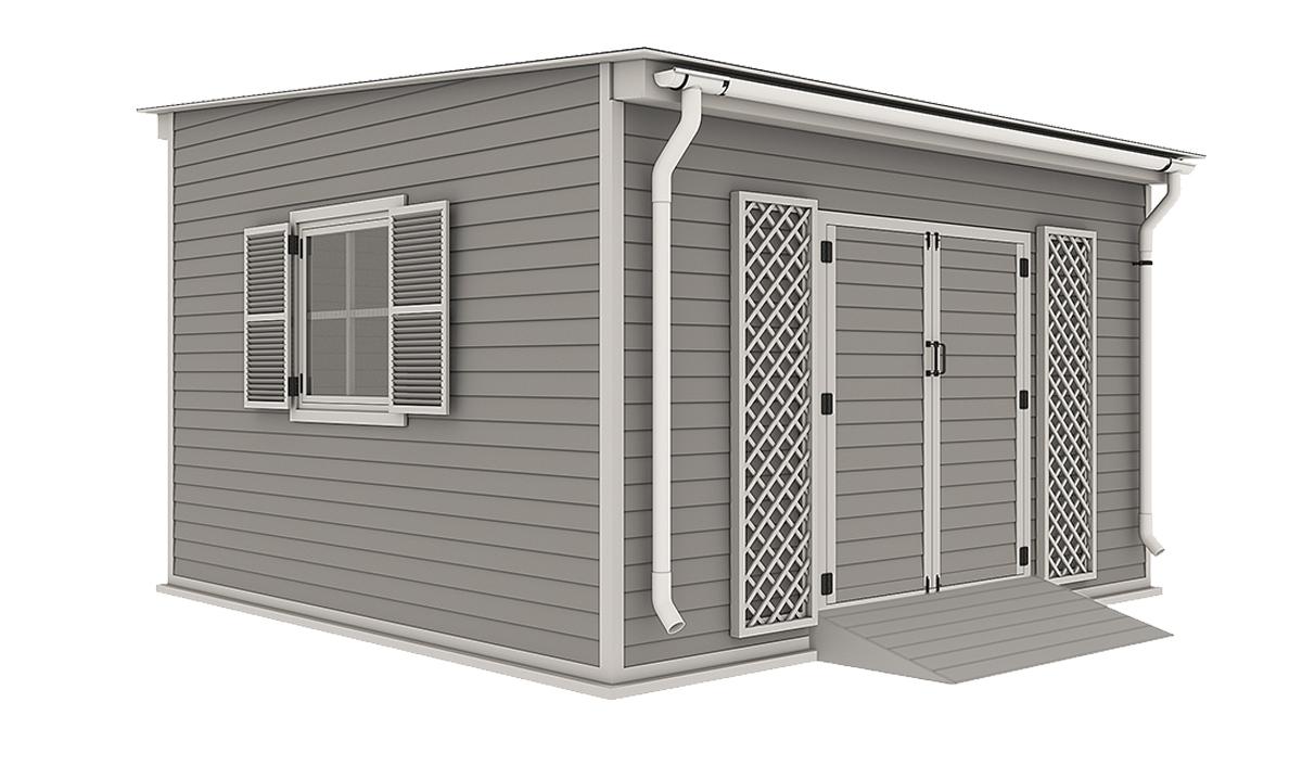 14x14 garden shed