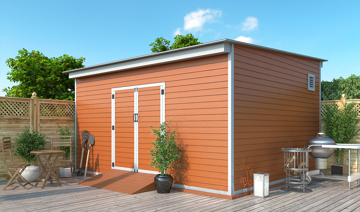 14x16 storage shed preview