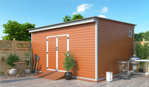 14x16 lean-to storage shed plans