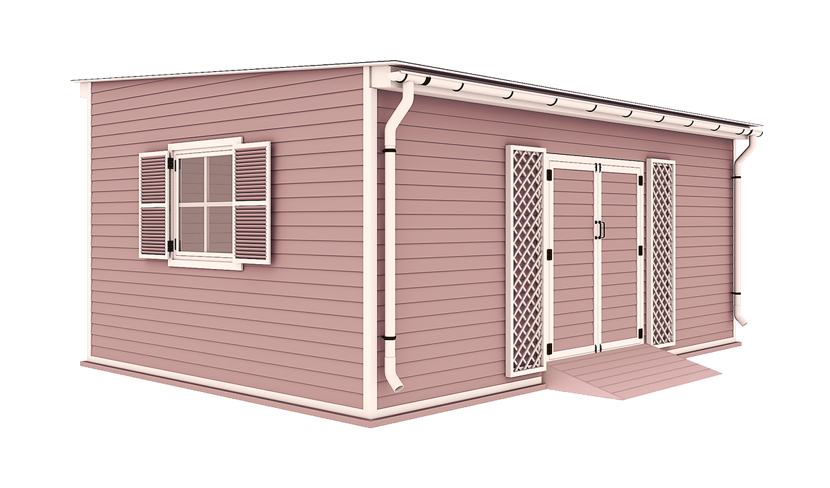 14x20 garden shed
