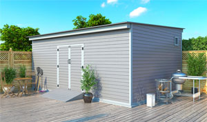 14x20 lean-to storage shed plans