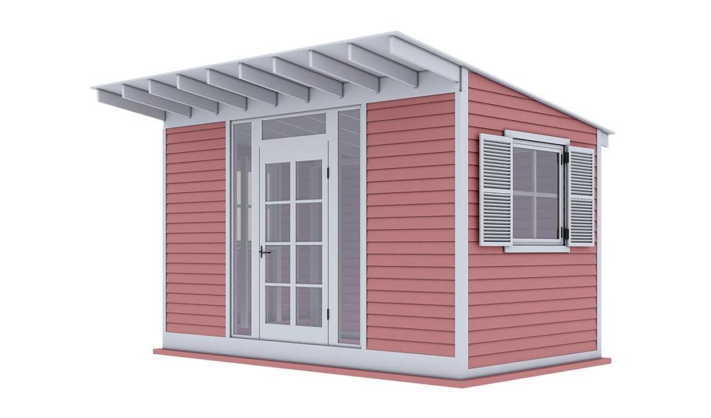14x8 garden shed