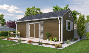 16x20 Garden Shed Preview
