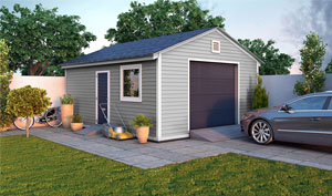 16x20 gable garage shed plans