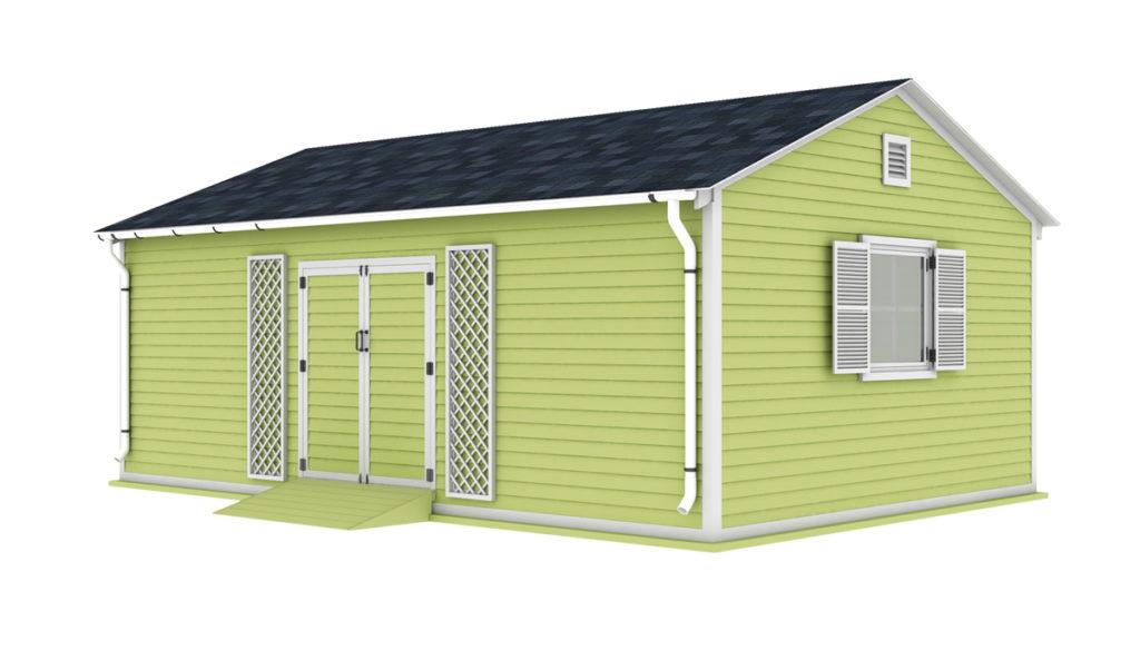 16x24 garden shed