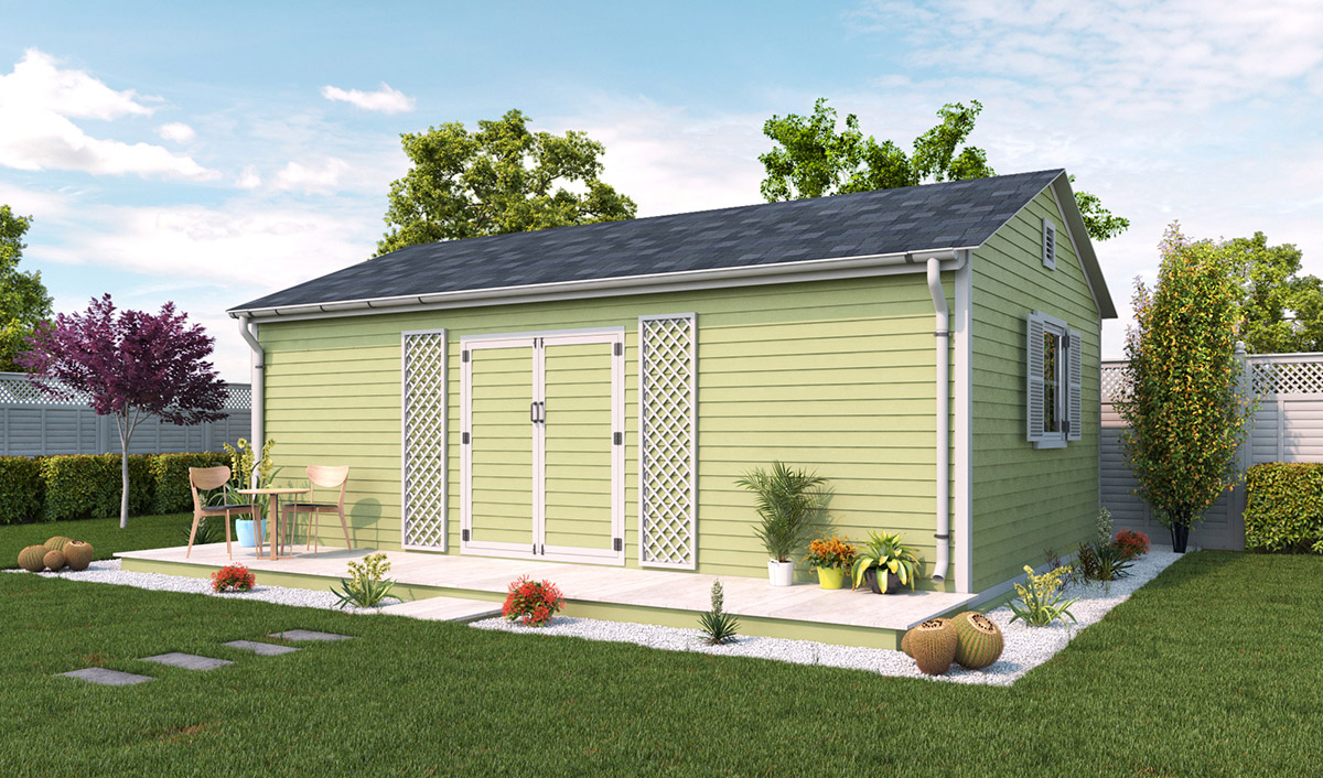 16x24 garden shed preview