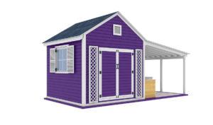 20x10 Garden shed