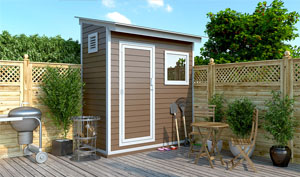 4x8 lean-to storage shed plans