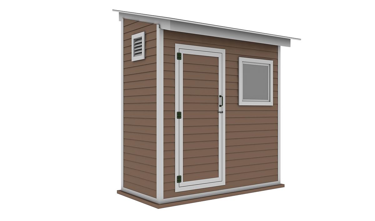 4x8 storage shed