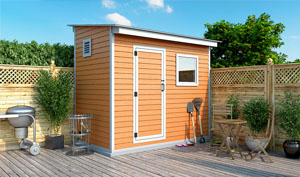 6x10 lean-to storage shed plans