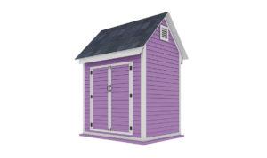 6x8 storage shed