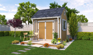 8x10 garden shed preview