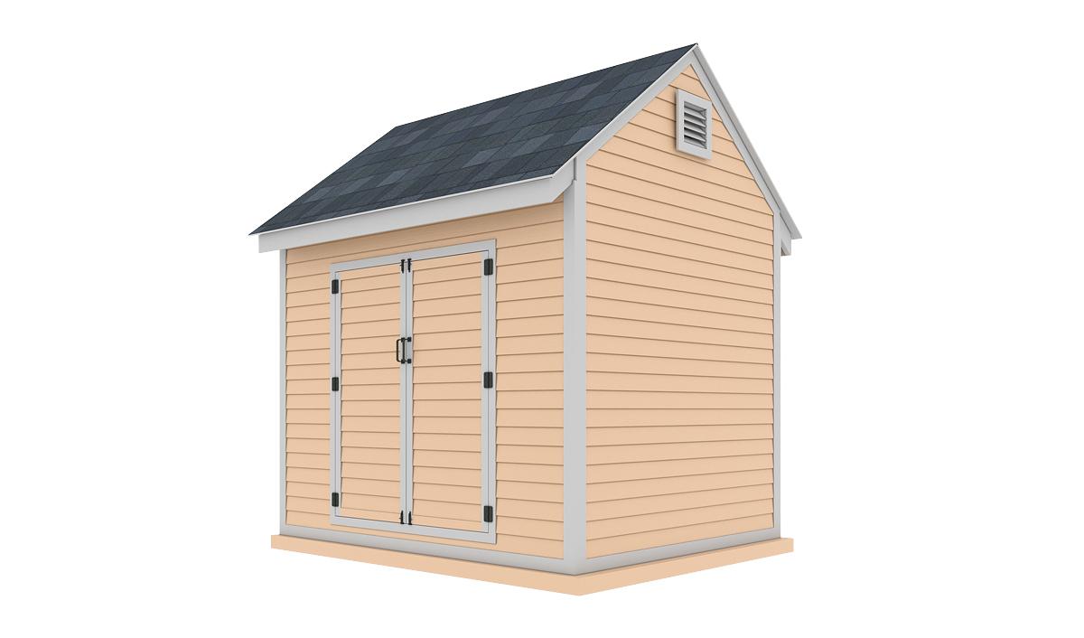 8x10 storage shed