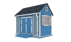8x12 garden shed