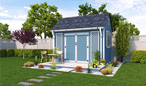 8x12 gable garden shed plans
