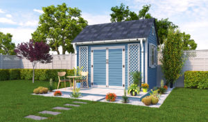 8x12 garden shed preview