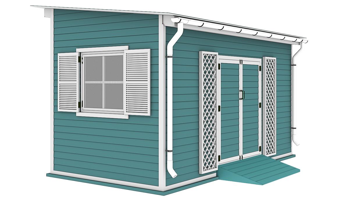 8x16 garden shed